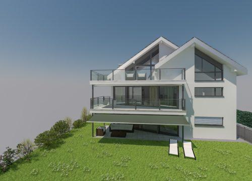 Mehrfamilienhausprojekt in Oberwil (zu verkaufen)